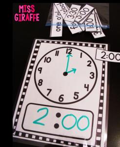 Clock Mat Dry Erase